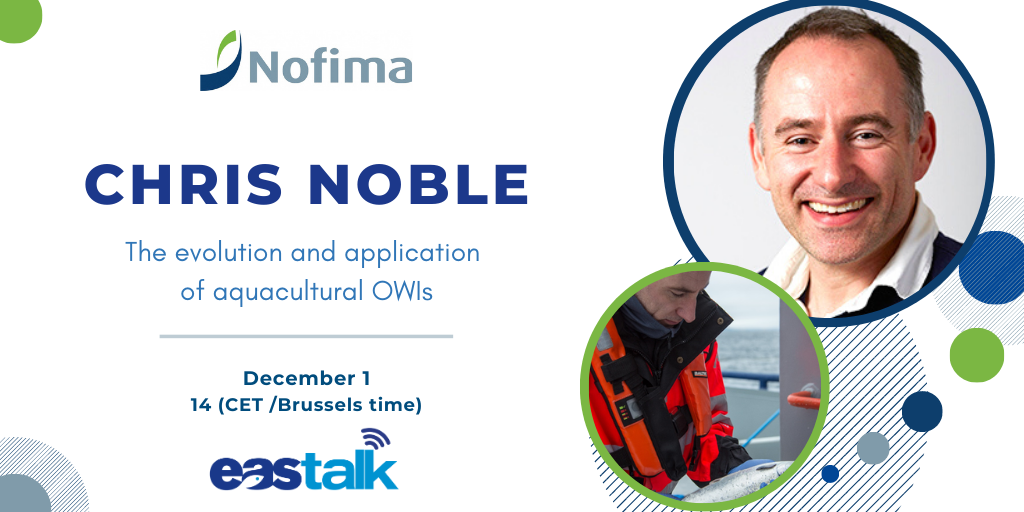 Chris Noble EAStalk ad