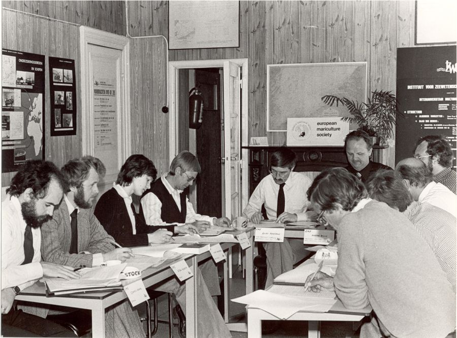 EMSBoard at work May 1980